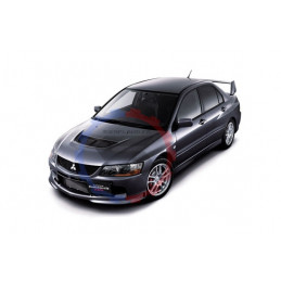 Silent bloc renforcé Mitsubishi evolution 8 powerflex