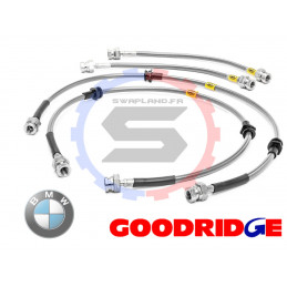 Durite aviation Goodridge pour BMW (E30) Ts Mod Disc Ar +M3 sauf 325ix