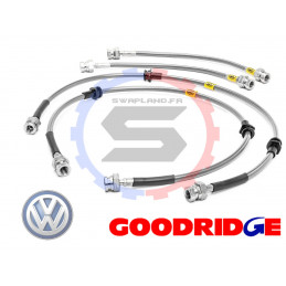 Durite aviation Goodridge pour Volkswagen Golf MkV 4WD R32 - Fronts & Mids Only 2006>