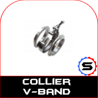 V-band inox : kit, bague et collier de rechange